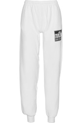 Brian Lichtenberg Homies Advisory Cotton Track Pants White