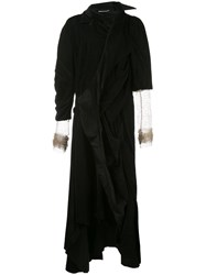 Aganovich Asymmetric Velvet Jacket Dress 60