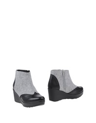 Cuple Ankle Boots Light Grey