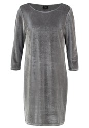 Vila Visienna Summer Dress Granite Grey