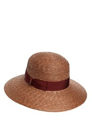 Borsalino Pamela Braided Straw Hat
