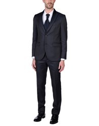 Gai Mattiolo Suits Dark Blue