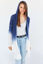 Lamade Piper Dip Dye Cardigan Blue Multi