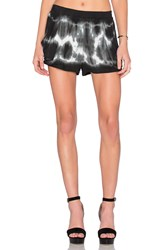 Bishop Young Tie Dye Short Black