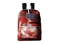 Jansport Overexposed Multi Red Galaxy Backpack Bags