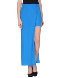 Space Style Concept Long Skirts Azure