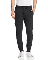 Twenty Tees French Terry Zip Pocket Sweatpants Black
