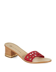 Trina Turk Avery Sandals Red