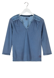 Gaastra Skysail Long Sleeved Top Bright Indigo Blue