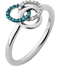 Links Of London Treasured Sterling Silver And Diamond Ring