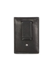 Coach Leather Money Clip Light Brown