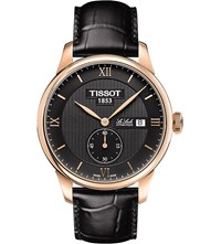 Tissot T006.428.36.058.01 Le Locle Stainless Steel And Leather Watch