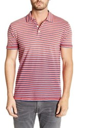 Lucky Brand Patriotic Striped Polo Multi