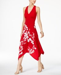 Inc International Concepts Printed Cutout Back Dress Only At Macy's Sublime Bouquet