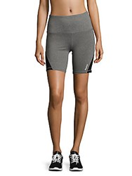 Reebok Super Charged Heathered Shorts Charcoal