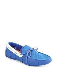 Swims Lace Loafers Blue
