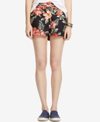 Denim And Supply Ralph Lauren Floral Print Poplin Shorts Mallow Floral