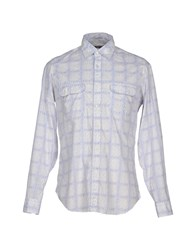 Siviglia Shirts Shirts Men Sky Blue
