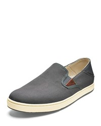 ce09fd54b78 Olukai Kahu Slip On Sneakers Gray