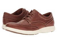 Cole Haan Grand Tour Wing Oxford Woodbury Leather Ivory Gum Men's Lace Up Casual Shoes Brown