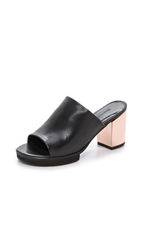 Won Hundred Erina Mules Black