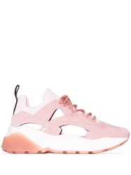 Stella Mccartney Eclypse Cut Out Sneakers Pink