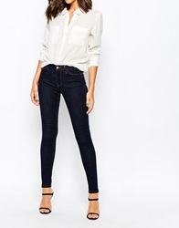 Warehouse Power Hold Skinny Jean Indigoraw