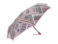 Vera Bradley Umbrella Northern Stripes Umbrella Gray