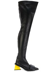 Marques Almeida Marques'almeida Knee High Boots Women Leather 39 Black