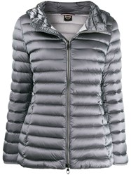 Colmar Hooded Puffer Jacket Grey