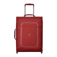 Delsey Dauphine 3 Slim 2 Wheel Trolley Case 55Cm Red
