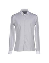 Bill Tornade Billtornade Shirts Shirts Men Grey