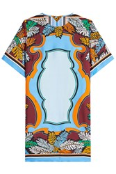 Emilio Pucci Printed Silk Dress Multicolored