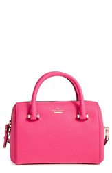 Kate Spade New York Cameron Street Lane Leather Satchel Pink Pink Confetti