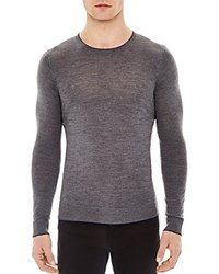 Sandro Line Sweater Mocked Grey