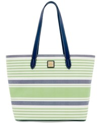 Dooney And Bourke Westerly Large Zip Shopper Green