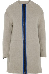 Opening Ceremony Scuba Wool Blend Coat