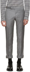 Thom Browne Grey Suit Trousers