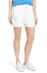 Nydj Petite Women's 'Avery' Colored Denim Roll Cuff Shorts