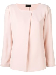 Emporio Armani Long Sleeved Blouse Pink