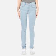 Levi's Women's 721 High Rise Skinny Jeans Drawing A Blank Blue