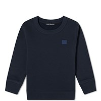 Acne Studios Mini Fairview Face Crew Sweat Blue