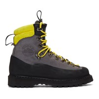 Diemme Grey And Black Everett Boots