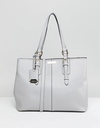 Carvela Ortha Slouch Tote Bag Grey