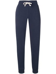 Vince Basic Track Trousers Blue