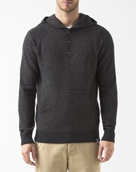 Element Dark Grey Button Up Mason Hoodie