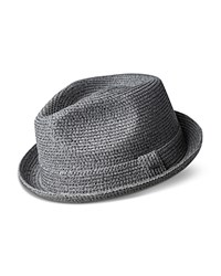 Bailey Of Hollywood Billy Braided Straw Hat Gravel
