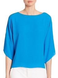 Michael Kors Silk Bateau Tunic Wave
