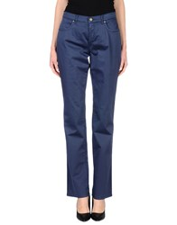 Trussardi Jeans Trousers Casual Trousers Women Dark Blue