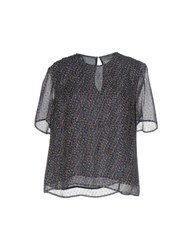 Band Of Outsiders Blouses Dark Purple